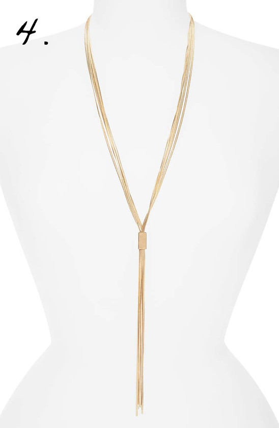 Nordstrom | Canvas Jewelry Lariat Necklace