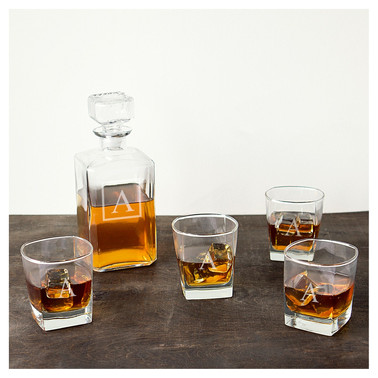 Target | Cathy's Concepts® 5pc Monogram Decanter Set