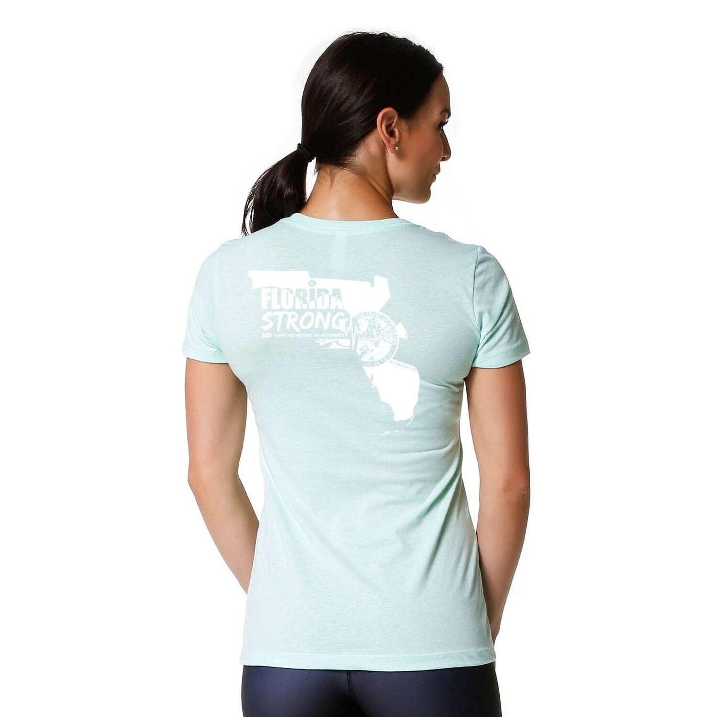 Bluewater Gear - HURRICANE MICHAEL RELIEF WOMEN'S TEE – MINT