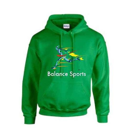 balance sports green hoodie