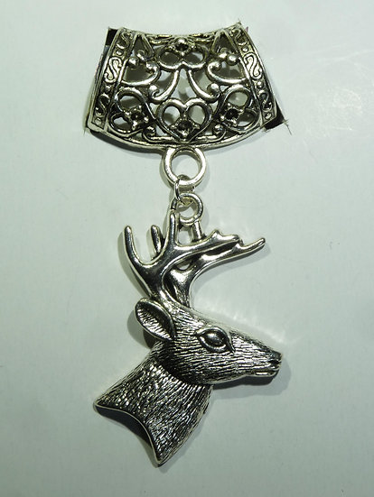 Scarf Pendant - Stag
