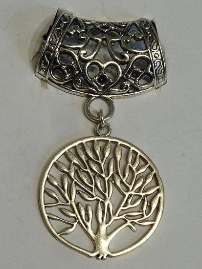 Scarf Pendant - Tree of Life
