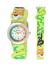 Time Teacher Watch - Wild Animals