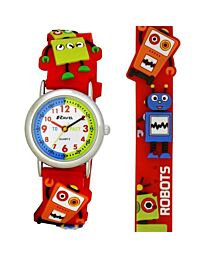 Time Teacher Watch - Robots