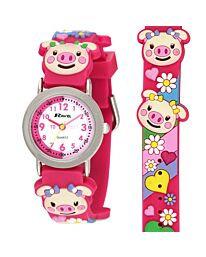 Time Teacher Watch - Piglet