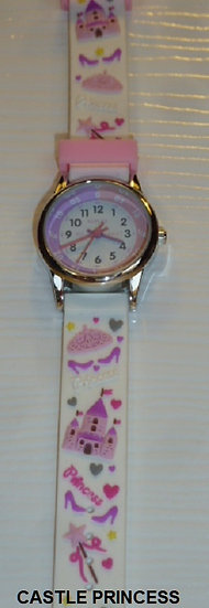 Time Teacher Watch - Princess Castle