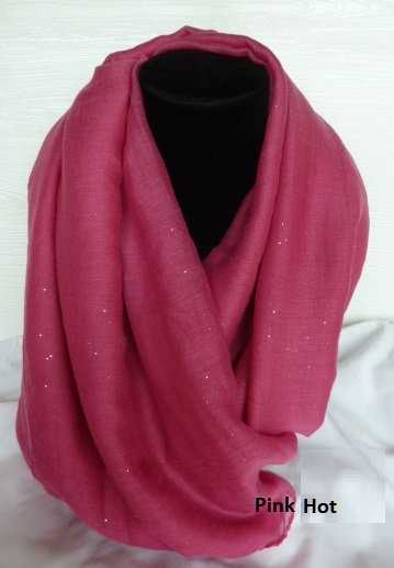 Sparkle Scarves - In the Pinks