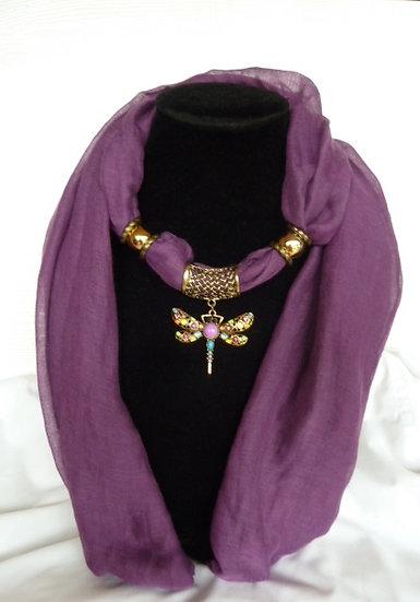 Plain Set - Purple Dragonfly