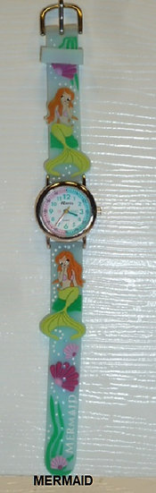 Time Teacher Watch- Mermaid
