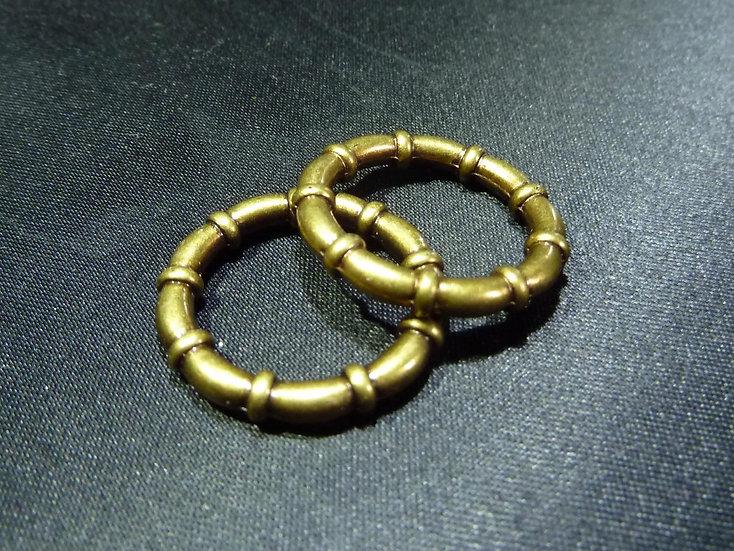 Scarf Decor Rings - Design 6