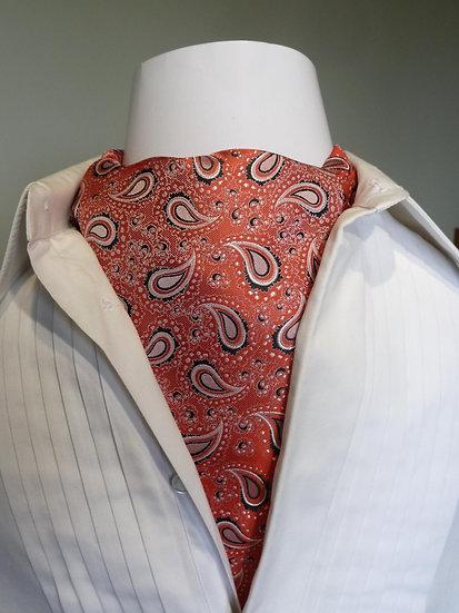 Cravat - Pink Teardrop Paisley
