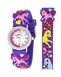 Time Teacher Watch - Pony & Unicorn