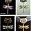 Thumbnail: Scarf Pendant - Dragonfly