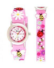 Time Teacher Watch - Bee & Ladybird