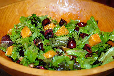 Sweet Orange Cherry Salad