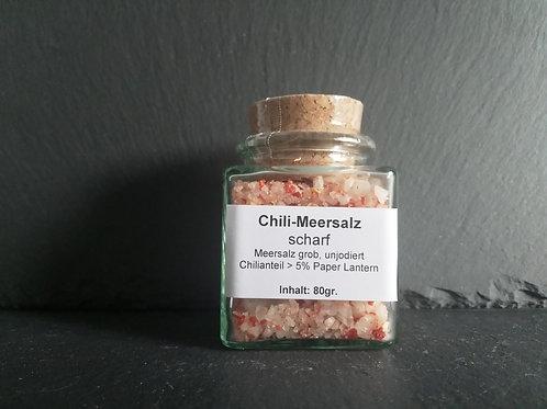 Chili-Meersalz - Paper Lantern - scharf, 80gr.