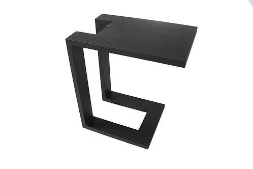 Lounge Beistelltisch U-Table black