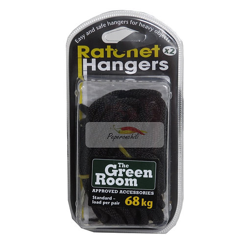 Lampenhalterung Ratchet-Hangers, 2 Stück bis 68kg