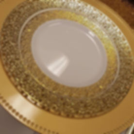 Gold Charger & Plate Set Up..._#event_#w