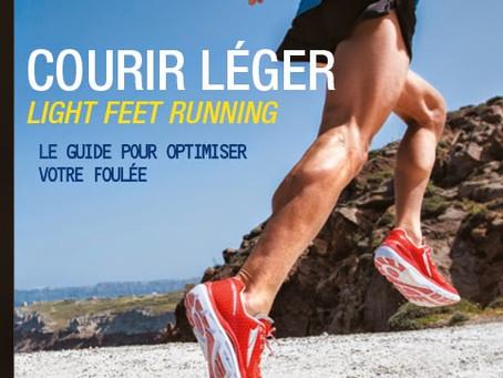"""Le livre """"Courir léger - Light Feet Running"""" n°1 des ventes Running"""