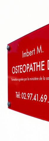 Imbert M. Ostéopathe D.O. Pontchâteau