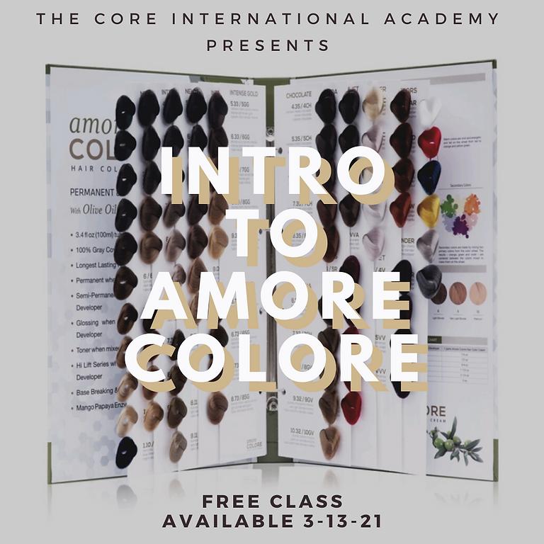 Intro Color Class to Amore Colore