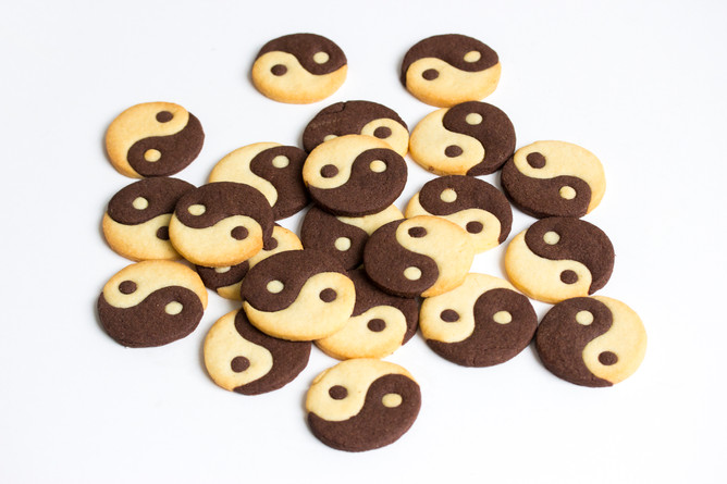 Here's How: Icing-Free Yin Yang Cookies