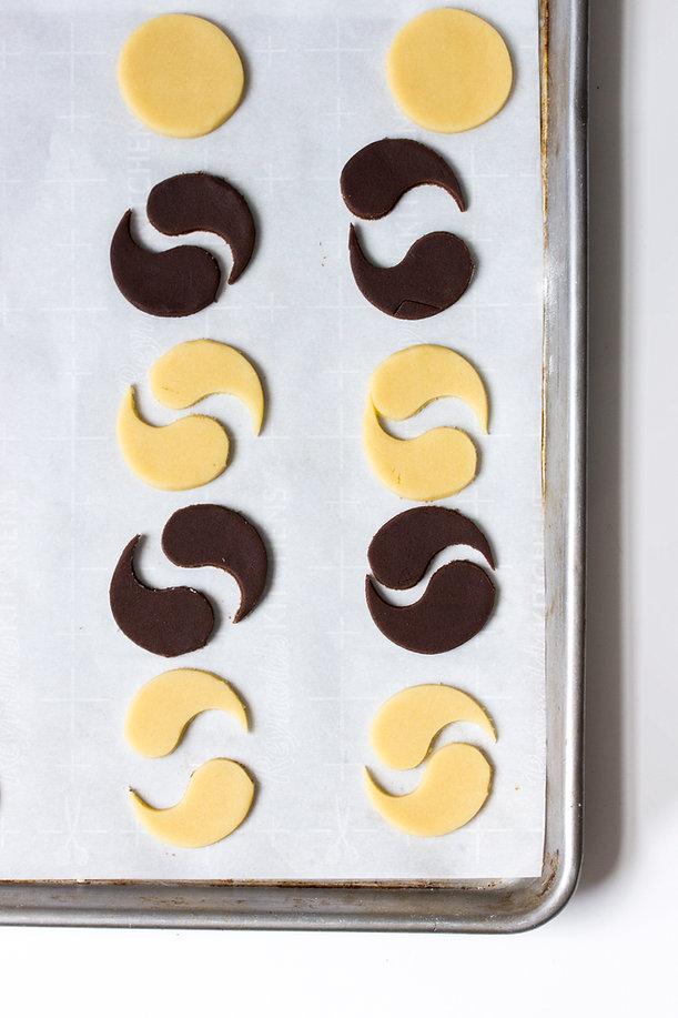 Icing-Free Yin Yang Cookies