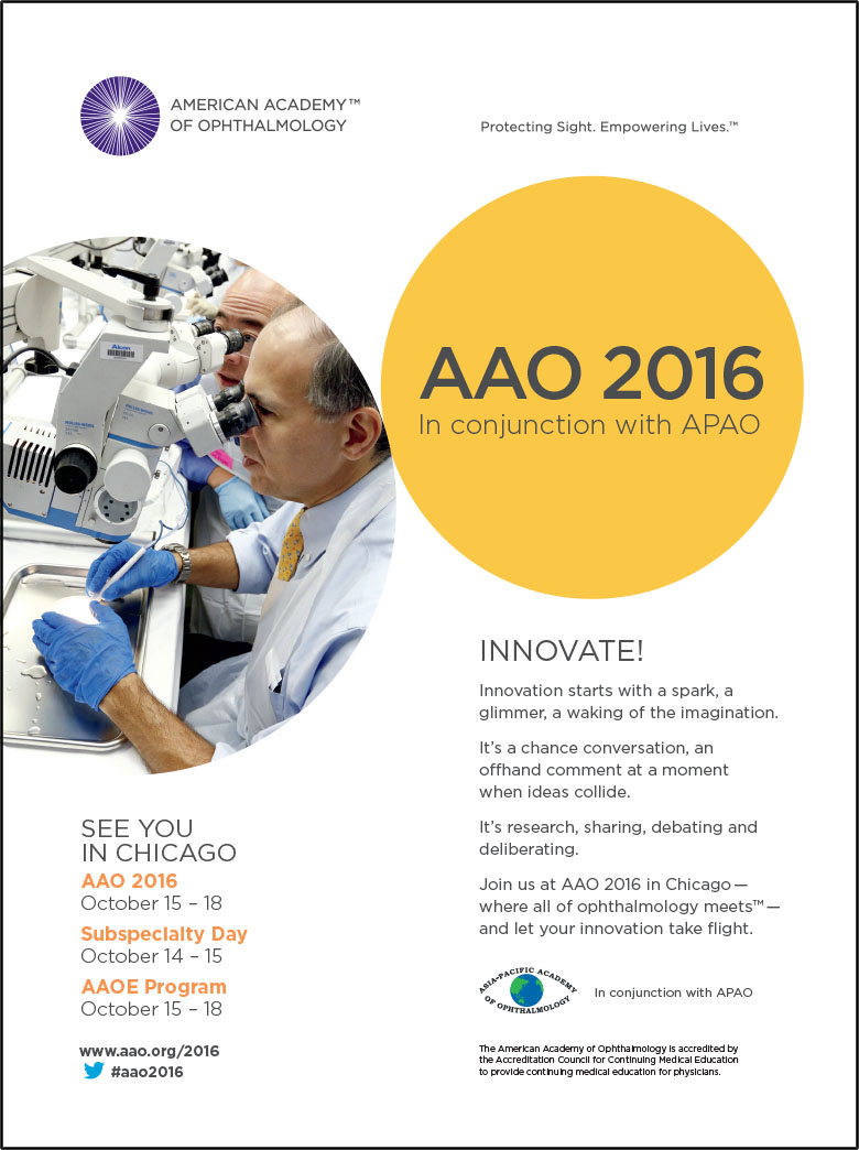 AFTER: AAO 2016