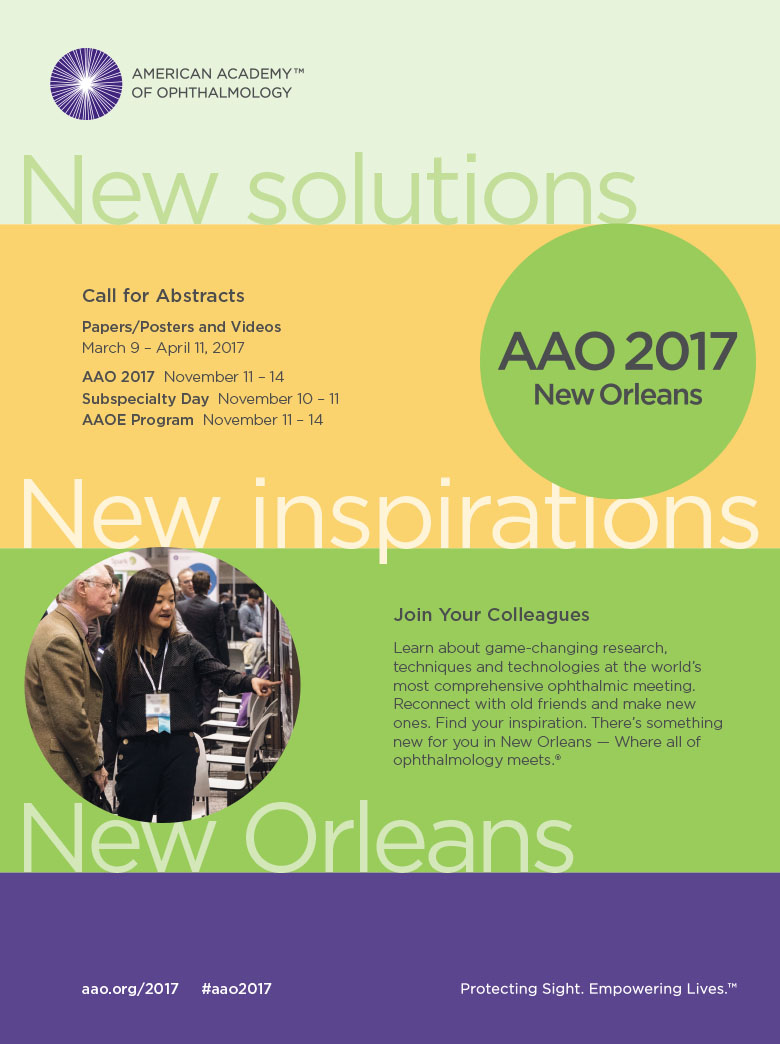 AFTER: AAO 2017