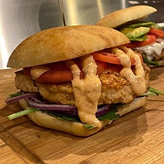 The Salmon Burger