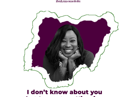 I don't know about you but I am a true Nigerian.