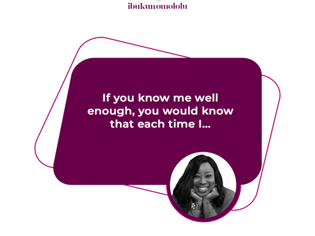 If you know me well enough, you would know that each time I…