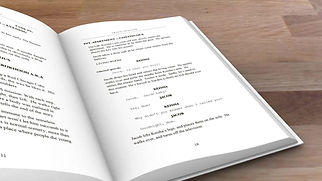 Script Novel Book