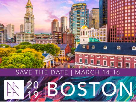 NAEA Conference set for Boston