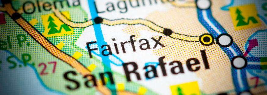 Fairfax. California. USA on a map..jpg