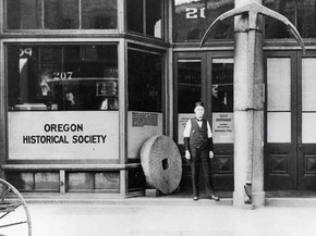 Oregon Historical Society lets you in the vault!