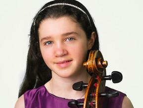 Angela Rose Padula, age 14, cello
