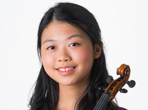 Katie Liu, 14, violinist