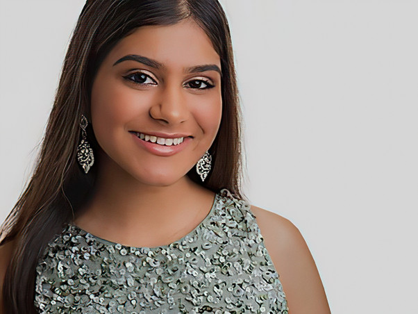 Aishani Saha, Age 18