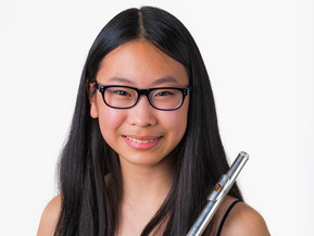 Macy Gong, age 15, flutist