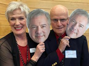 Elizabeth, Niel, Bill and Niel