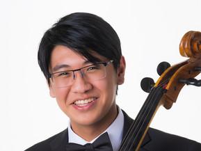 Adrian Hsieh, age 17, cellist
