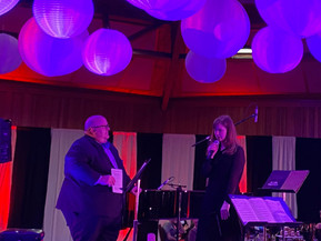 Patrick and Trinity performing