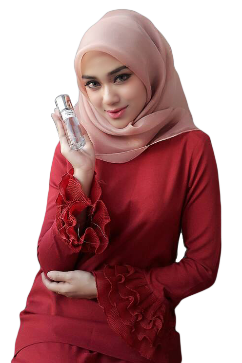Model Syahera Perfume HQ