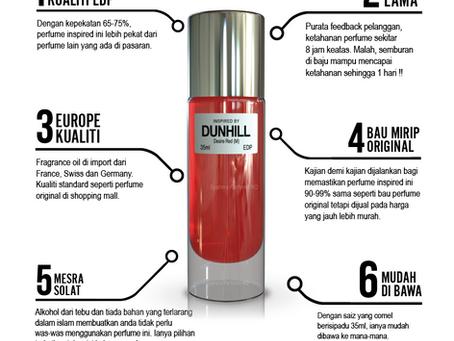Kenapa perfume inspired kami terbaik?