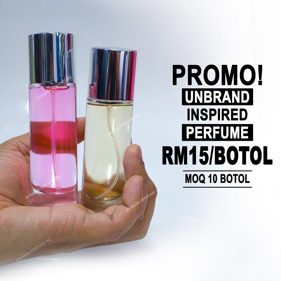Promosi unbrand perfume inspired Syahera Perfume HQ