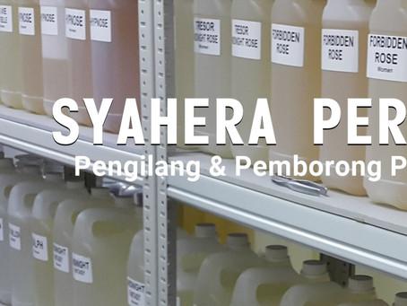 Page Syahera Perfume HQ dapat grey tick dari Facebook