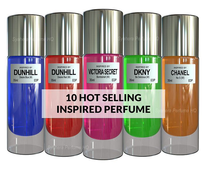 Hot selling perfume inspired