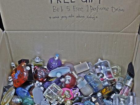 Promosi beli 5 Perfume Inspired Free 1 Perfume Dubai Tamat